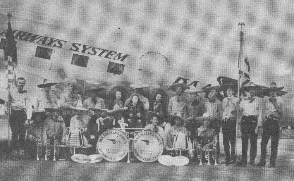 1939 The Pan Am Drum & Bugle Corp Brownville TX