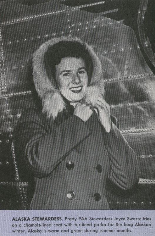 1944 Winter Parka for Alaska based stewardesses