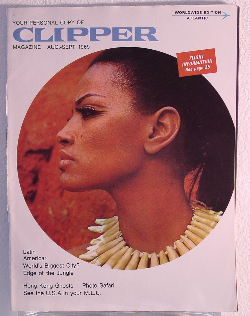 1969 August - September Clipper in-flight Magazine with a cover story on Latin America.