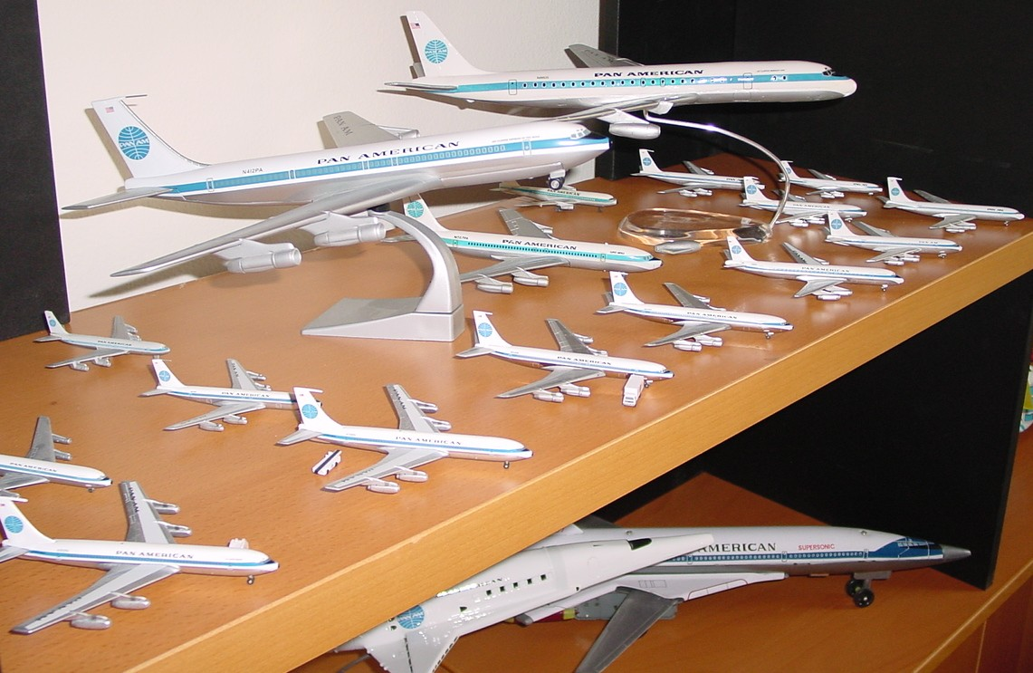Boeing 707s & Douglas DC8s of all sizes and manufacturers.