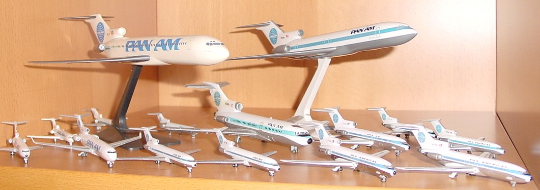Boeing 727s of all sizes and manufacturers.