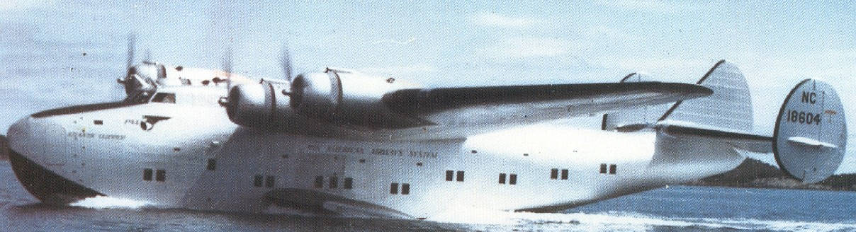 1939 Boeing B314 NC18604 Atlantic Clipper Port Washington, Long Island, New York