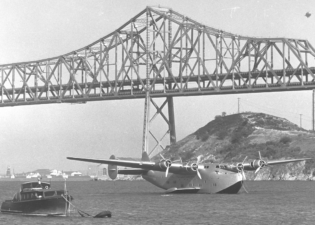 1940s Boeing B314 moored Treasure Island San Francisco purchased