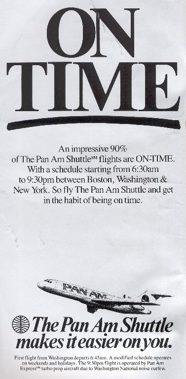 1987 Sep 1 Shuttle On Time Ad