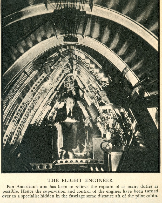 1936 April Fortune Pic M130 Flight Engineer